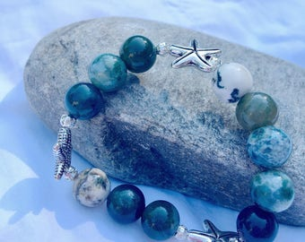 Green Starfish Bracelet