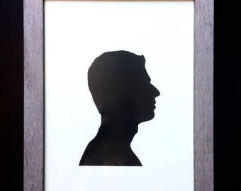 Custom Silhouette Painting