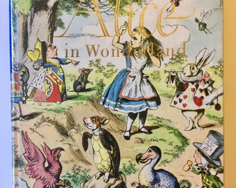 Alice in Wonderland and Through the Looking Glass (Illustrated Junior Library) 1972