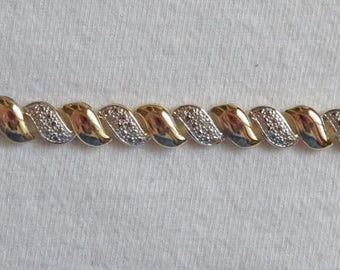 "Pretty Vermeil Bracelet – 7-1/2"""