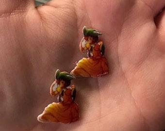 Earrings: Jane Tarzan