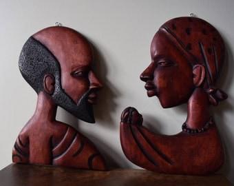 Senegal Wall Art Carvings