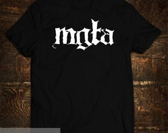 T-Shirt Mgla Black Metal Band