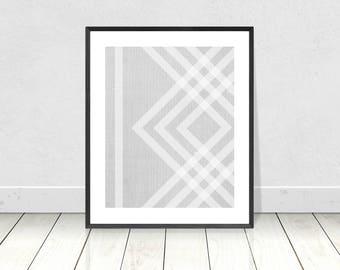 Scandinavian Print, Abstract Art, Geometric Print, Printable Instant Download, Modern Minimalist Wall Art,Mid Century Modern,Geometric Decor