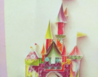 care to not for quilling, paperole model Castle, King, Queen, prince, Princess