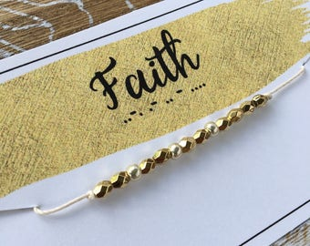 Morse Code FAITH