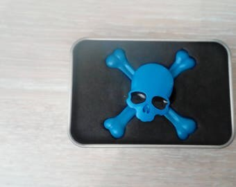 Hand spinner skull toy collection
