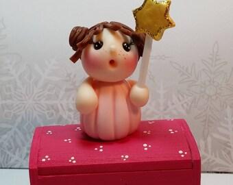 Fairy on mini chest