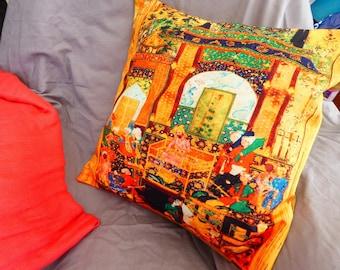 Pillow Cover Ancient Art
