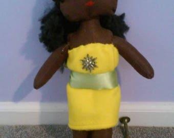 "Renee doll, 15"" OOAK felt doll by KraftySpaghetti"