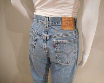 Vintage Levi's 505 /waist 29/Mom Jeans, Straight Leg, Boyfriend Jean