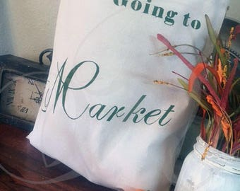 Going to Market Tote