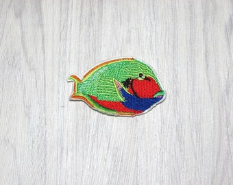 Green fish patch