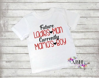 Ladies man T Shirt/Infant/Toddler/Youth Shirts/Adult themed shirts/Valentine's day