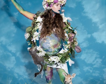 Mother Nature, Theatrical, Mythology, Fine Art, Photography, Print