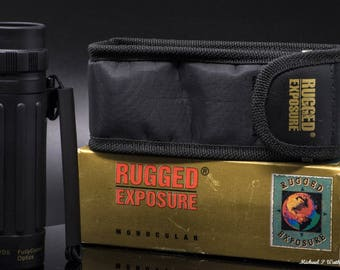 Rugged Exposure Monocular MB-1025 Black