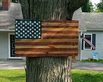 Pallet American Flag, Wood American Flag, American Flag, Rustic Flag, Pallet Flag, Wood Flag, Rustic Decor