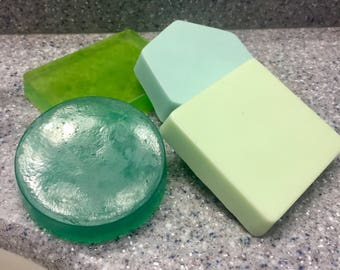 Soap set, scented soap set, handmade soap set