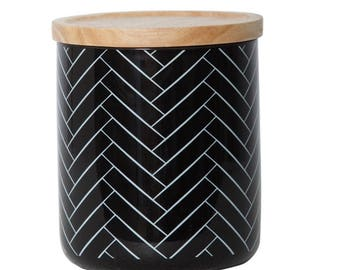 Scented Canister Soy Candle - Large Subway Tiles