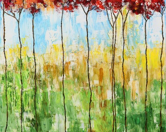 Red Trees (Original)