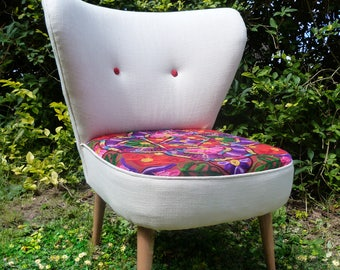 Occasional/Accent Chair Bedroom Chair Newly Upholstered