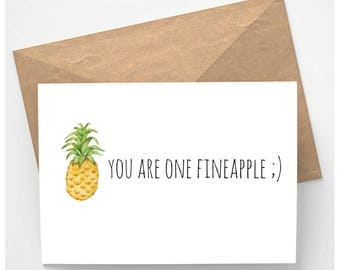 Instant Download - You Are One Fineapple