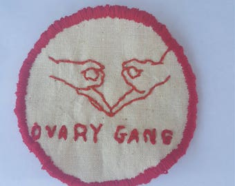 Ovary Gang Sew-on patch