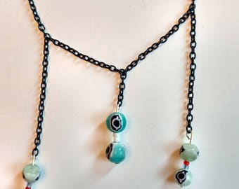 Evil Eyes Necklace