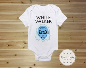 Game of Thrones Onesie - White Walker  - Game of  Thrones Gift - Game of Thrones Bodysuit Game of Thrones Baby Onesie -Baby Shower Gift
