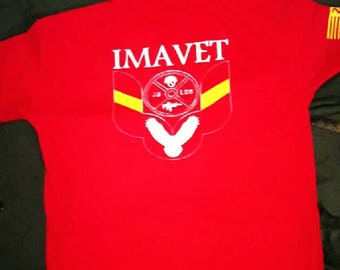 IMAVET Classic T Red cotton/polyester