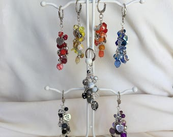 Bead Bag charms / Keyrings