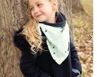 Organic child scarf