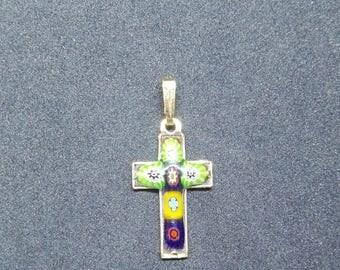 Cross enamel - Enamel CROSS - master craftsman