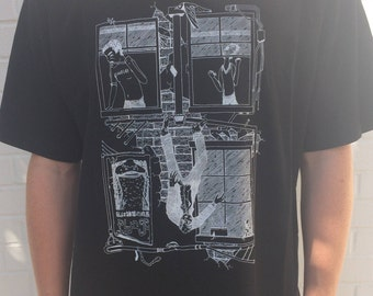 Limited edition silk screen printed tee shirt