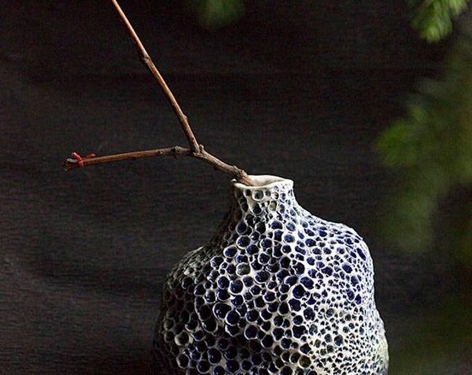 Modern Abstract Vase, Marine Ceramics, Ceramic Art Vase, Modern Art Ceramic, Amazing Home decor