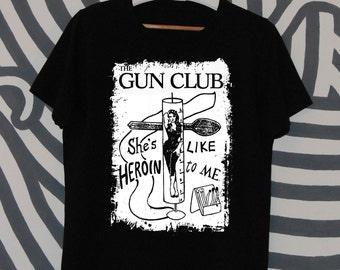 The Gun Club Fire in Love t-shirt basic