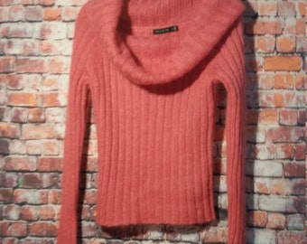 80's Pink Mohair Blend Sweater Women's Size M, The Limited ,Vintage