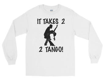 It Takes 2 2 Tango!  Spartees distressed jersey unisex Long Sleeve T-Shirt