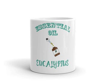 Essential Oil Eucalyptus Mug