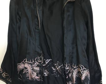 1940's Satin Evening Glam Jacket