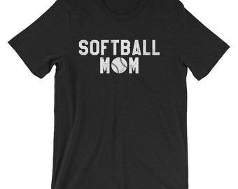 Softball Mom Shirt - Softball Mom Gift for Softball Mom - Mom Softball Shirt - Mom Softball Gift - Softball Mom T-shirt Softball Mom Tshirt