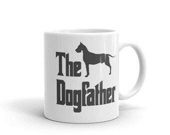 The Dogfather mug, Great Dane mug, funny dog gift mug, Great Dane lover, Great Dane gift, The Godfather parody, dog lover mug