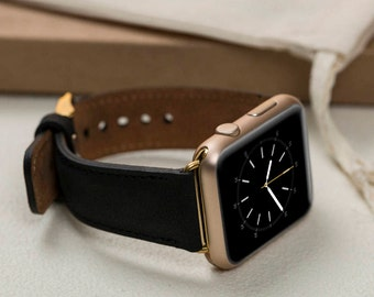Leather Apple iWatch Band, 42mm, 38mm, Apple Watch Series 1, 2 and 3, 42 and 38 mm Men/Women Watch Band, Gift for boyfriend, iWatch Band-006