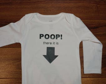 DIY Iron on Transfer - Poop there it is