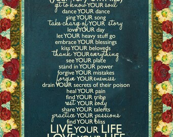 This is Your Life Mantra ArtPrint