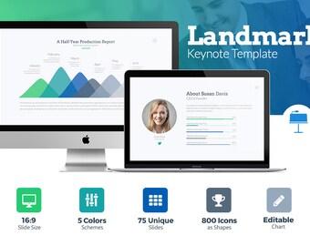 Landmark Business Keynote Template