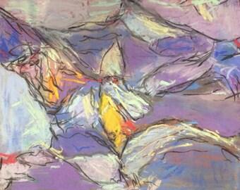 Latticework,modern,abstract,art,gallerry,pastel,unique,affordabel,gift,contemporery,art,modern/art,astrid buchhammer,new,wall art,deco,