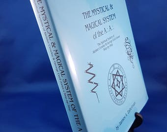 The Mystical & Magical System of the A∴A∴ Hardcover Magick Book