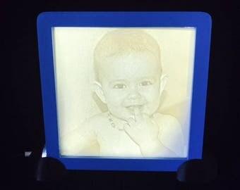 Lithophane 3d of your photo (10 x 10)