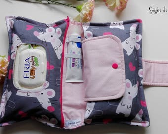 Diapers bag for mice-baby-babies-moms-new birth idea-aper clutch
